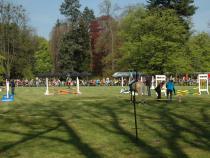 Májová slavnost v parku