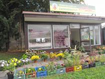 Zahájen podzimní prodej ve stánku na tržišti.
