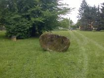 Přesun pískovcového kamene